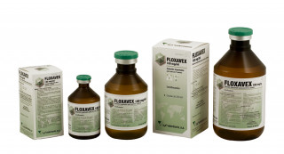 Floxavex 100 mg/ml solución inyectable