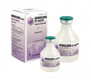 Hemocarb 85 mg/ml solución inyectable