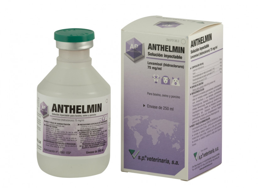 Anthelmin solución inyectable