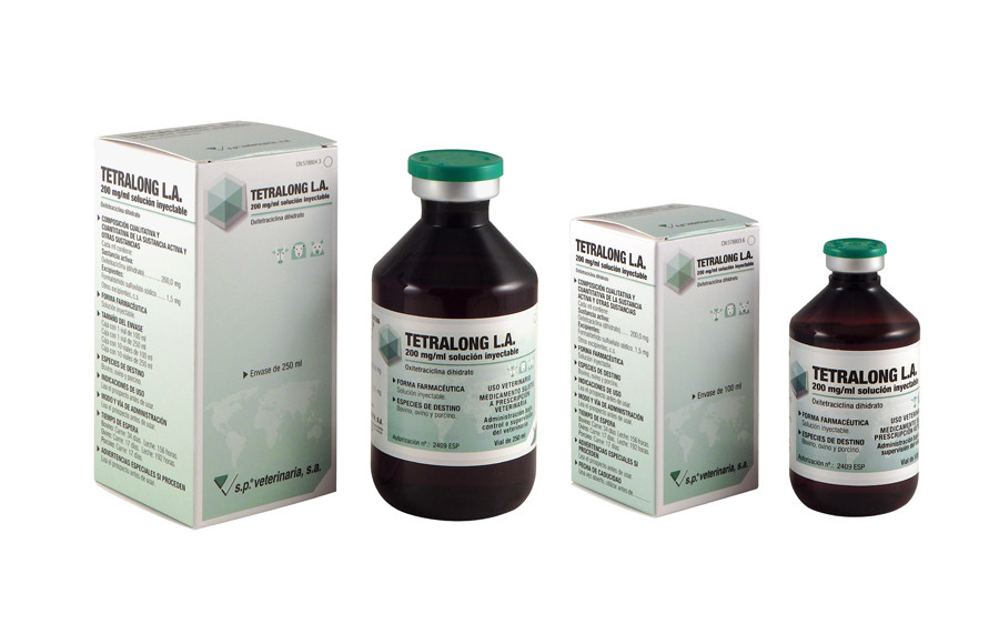 Tetralong L.A. 200 mg/ml solución inyectable